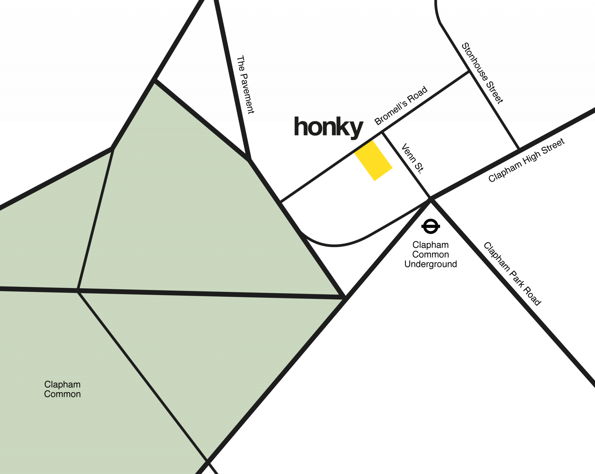 Honky Map