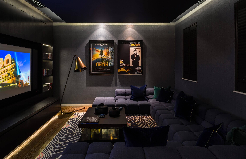 Honky Interior Design Hampstead London Cinema