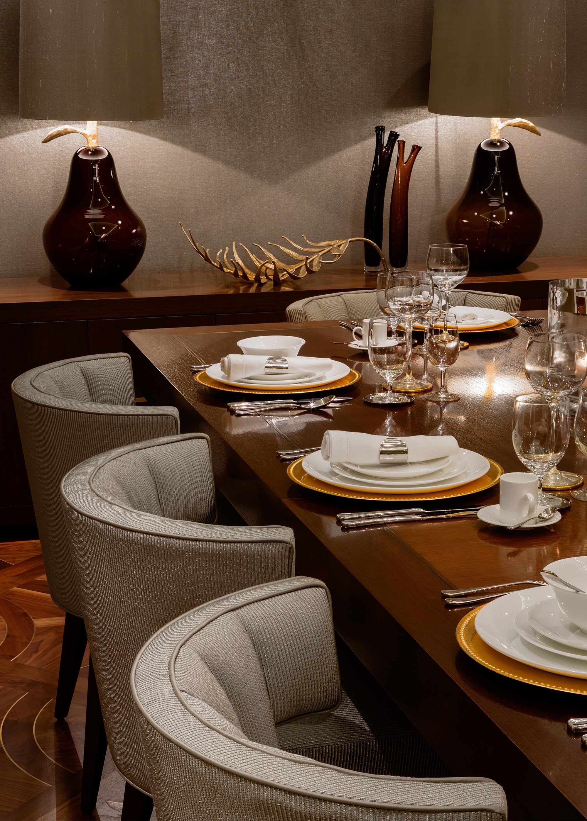 Honky Interior Design Hampstead London Dining Detail
