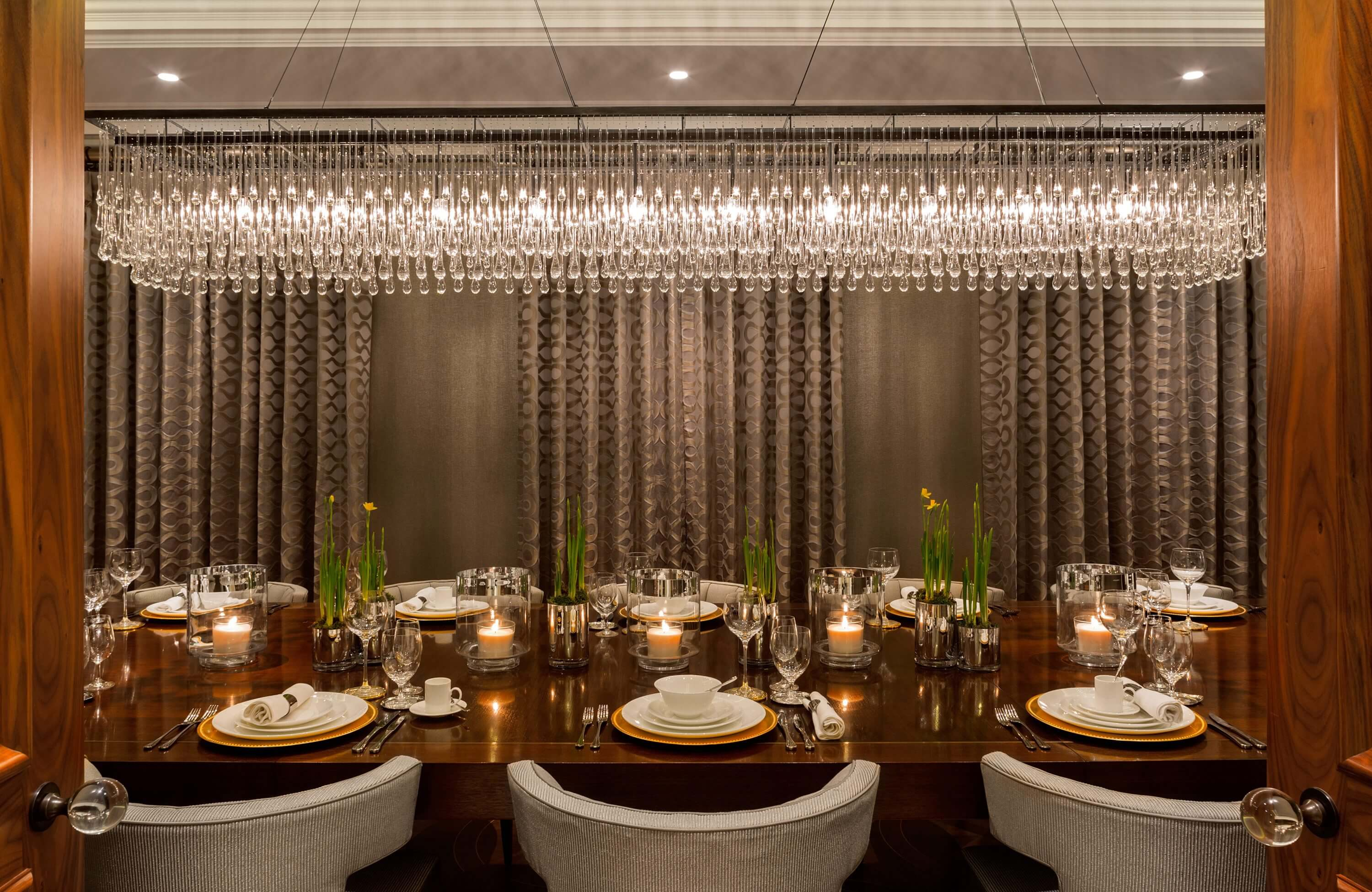Honky Interior Design Hampstead London Dining Wide