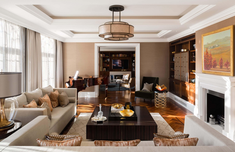 Honky Interior Design Hampstead London Living Room