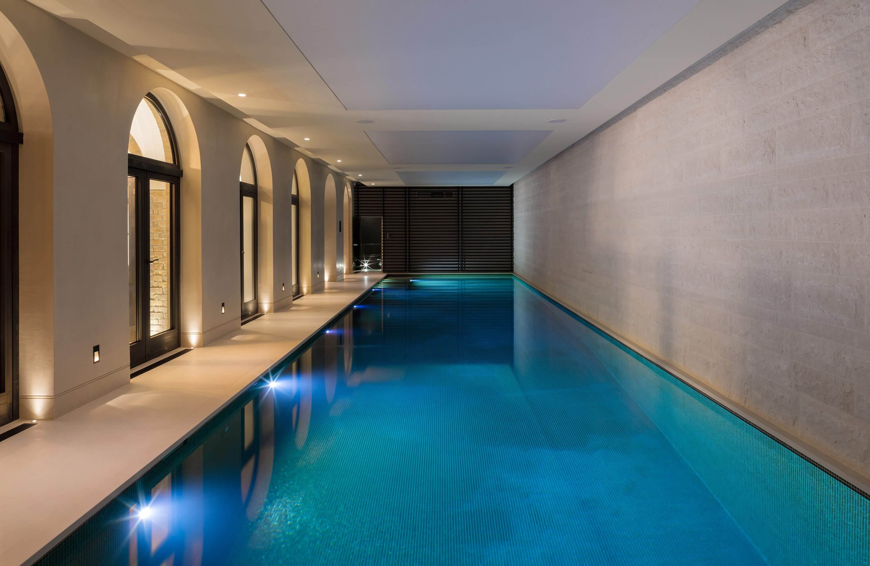 Honky Interior Design Hampstead London Pool