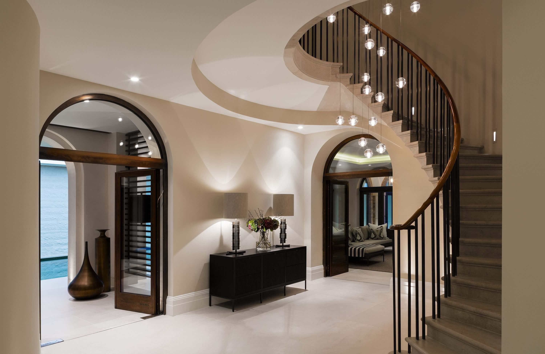 Honky Interior Design Hampstead London Pool Stairs