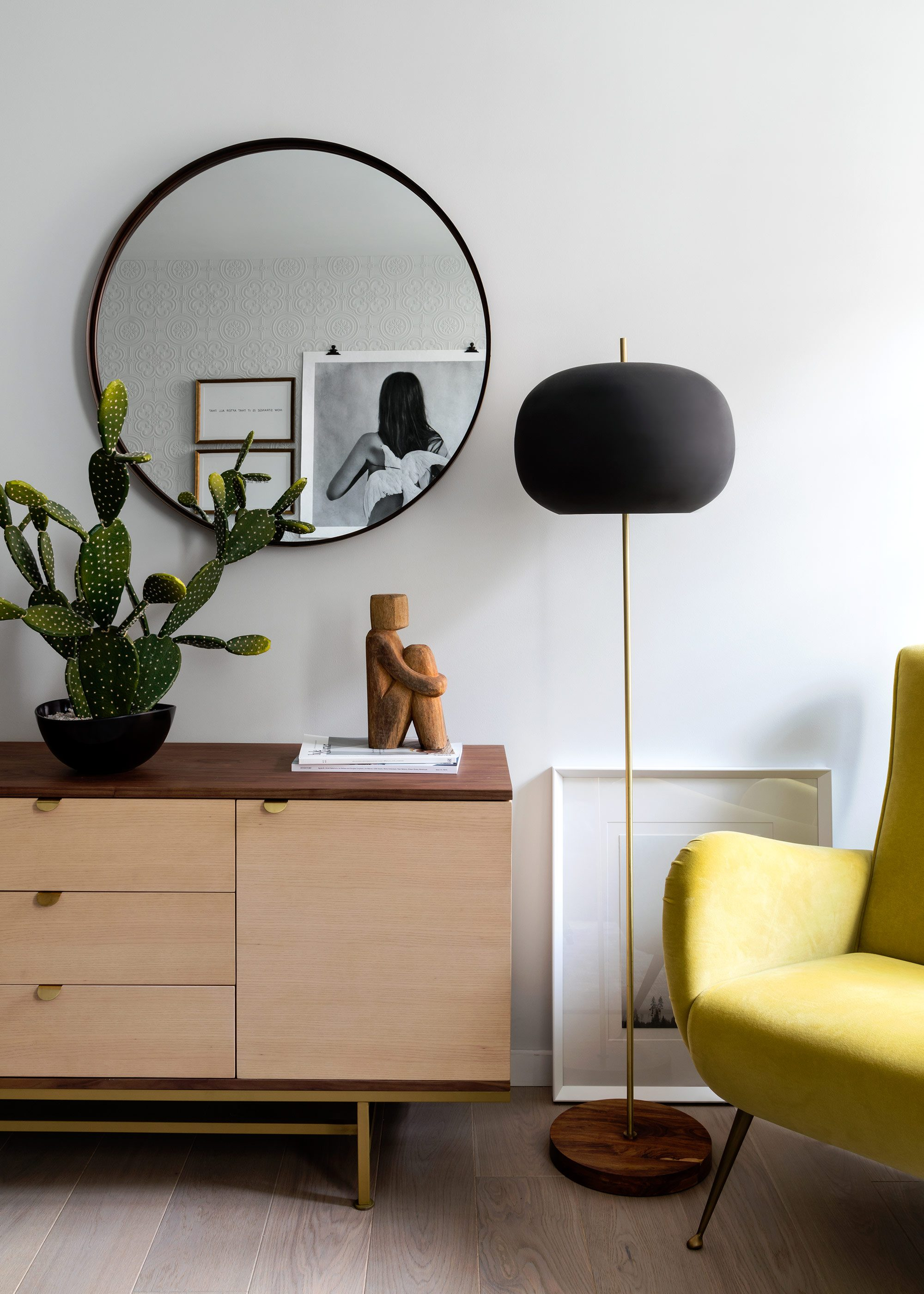 Honky Interior Design London Apartment SE1 1b Living Room