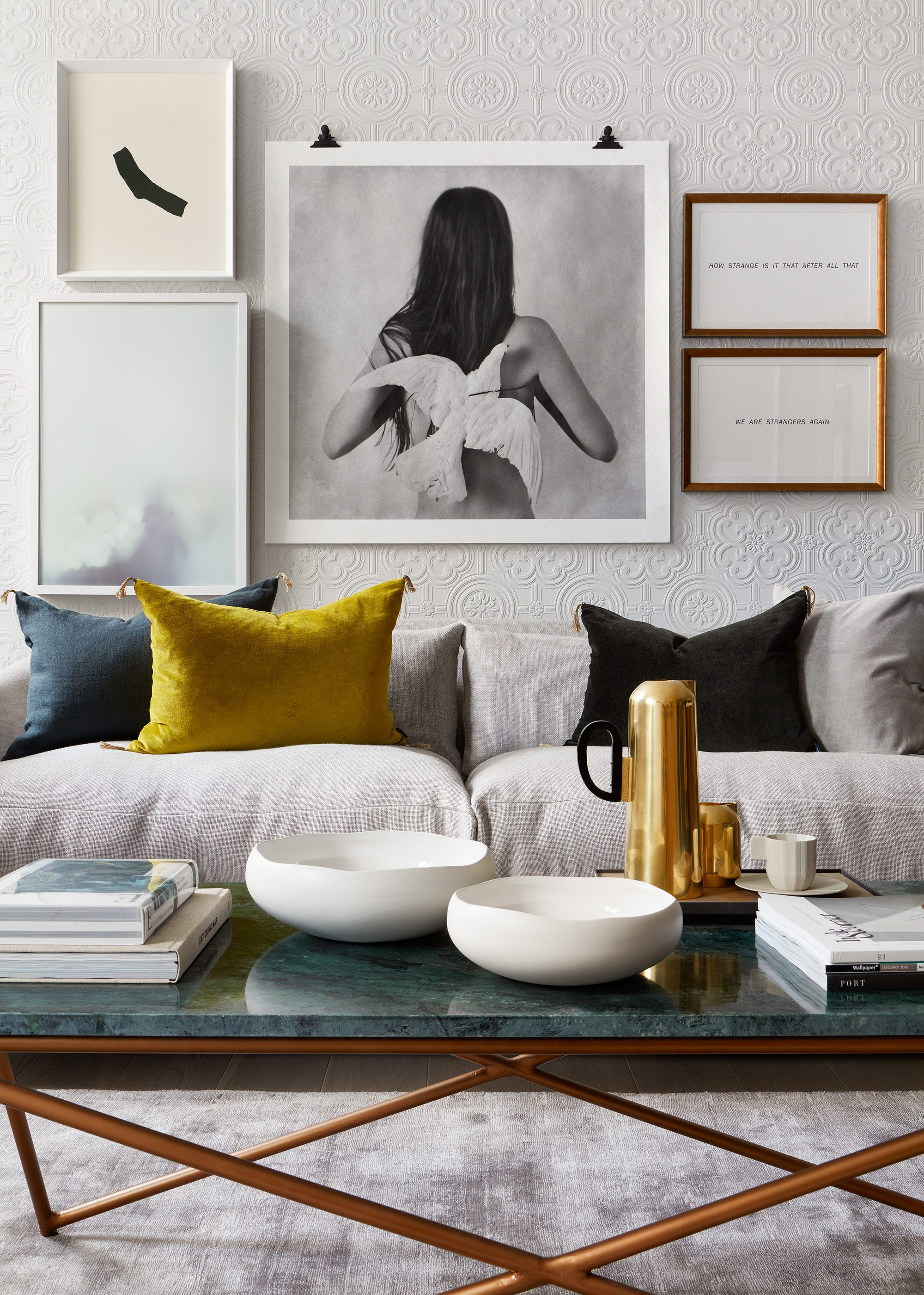 Honky Interior Design London Apartment SE1 1c Living Room