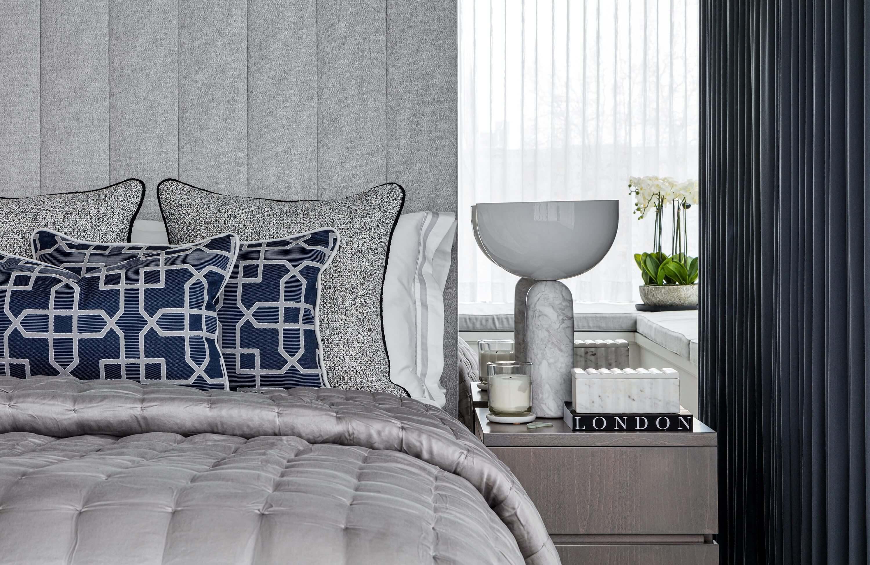 Honky Interior Design Luxury Apartment Hackney Road Bedroom 2