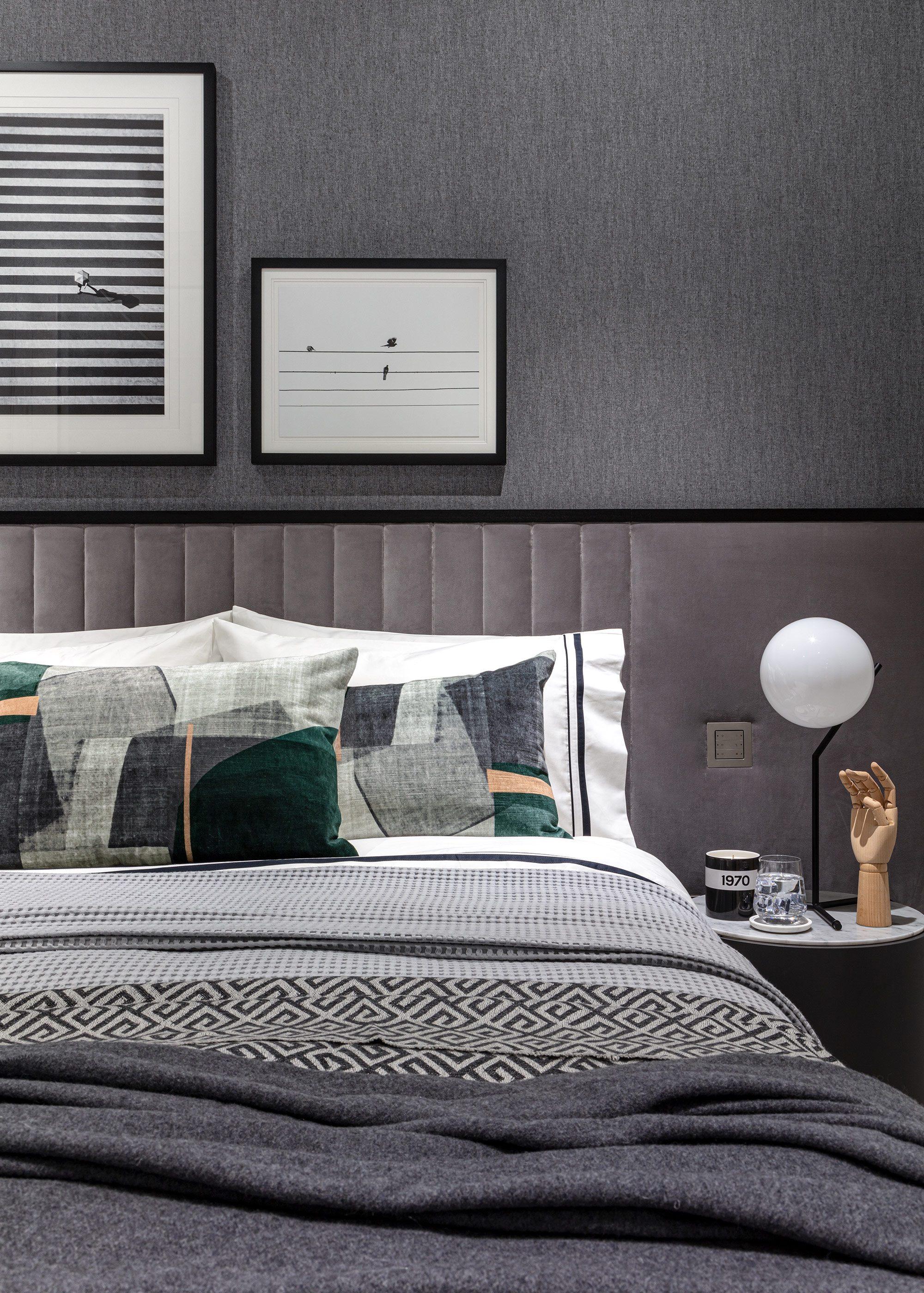 Honky Interior Design Luxury Apartment Hackney Road Bedroom Detail 1a