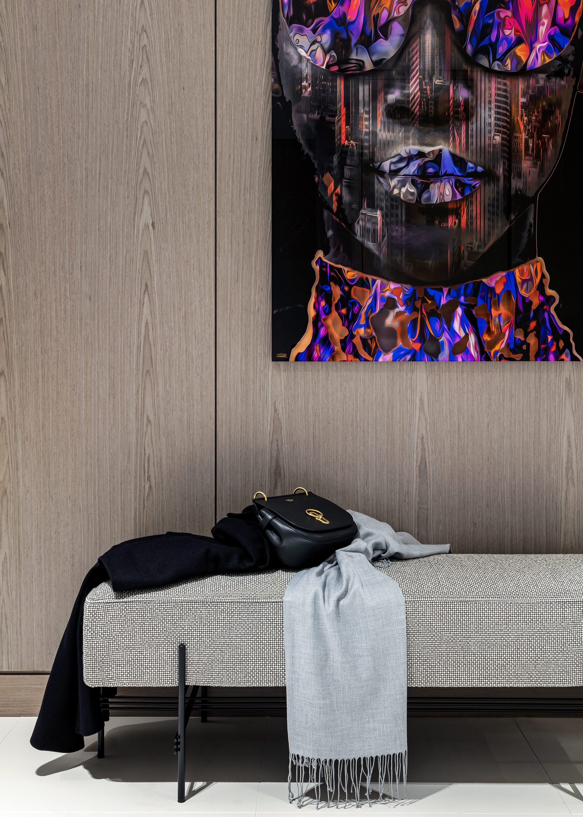 Honky Interior Design Luxury Apartment Hackney Road Detail 1a