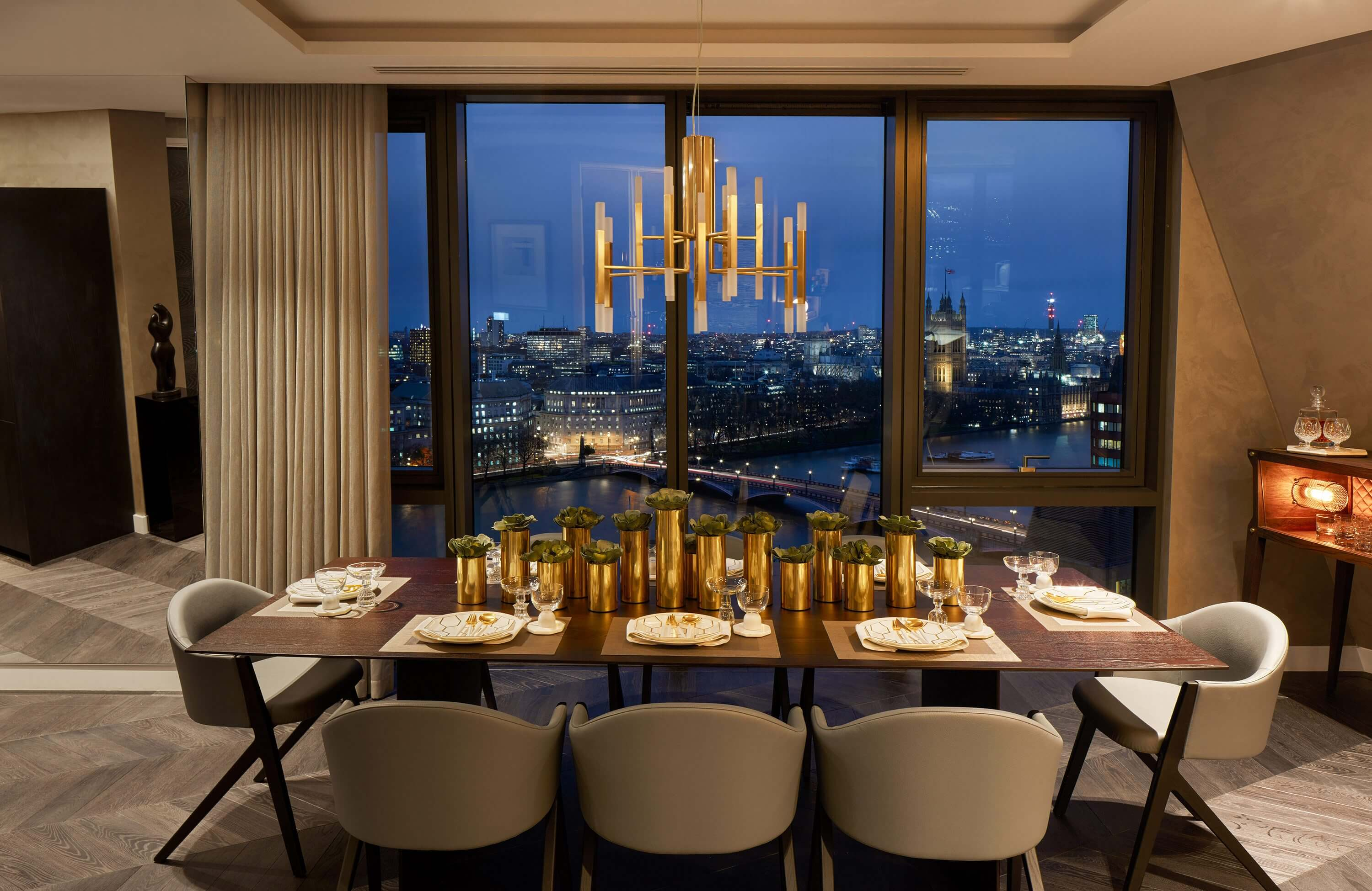 Honky Interior Design Parliament House London Dining Room2