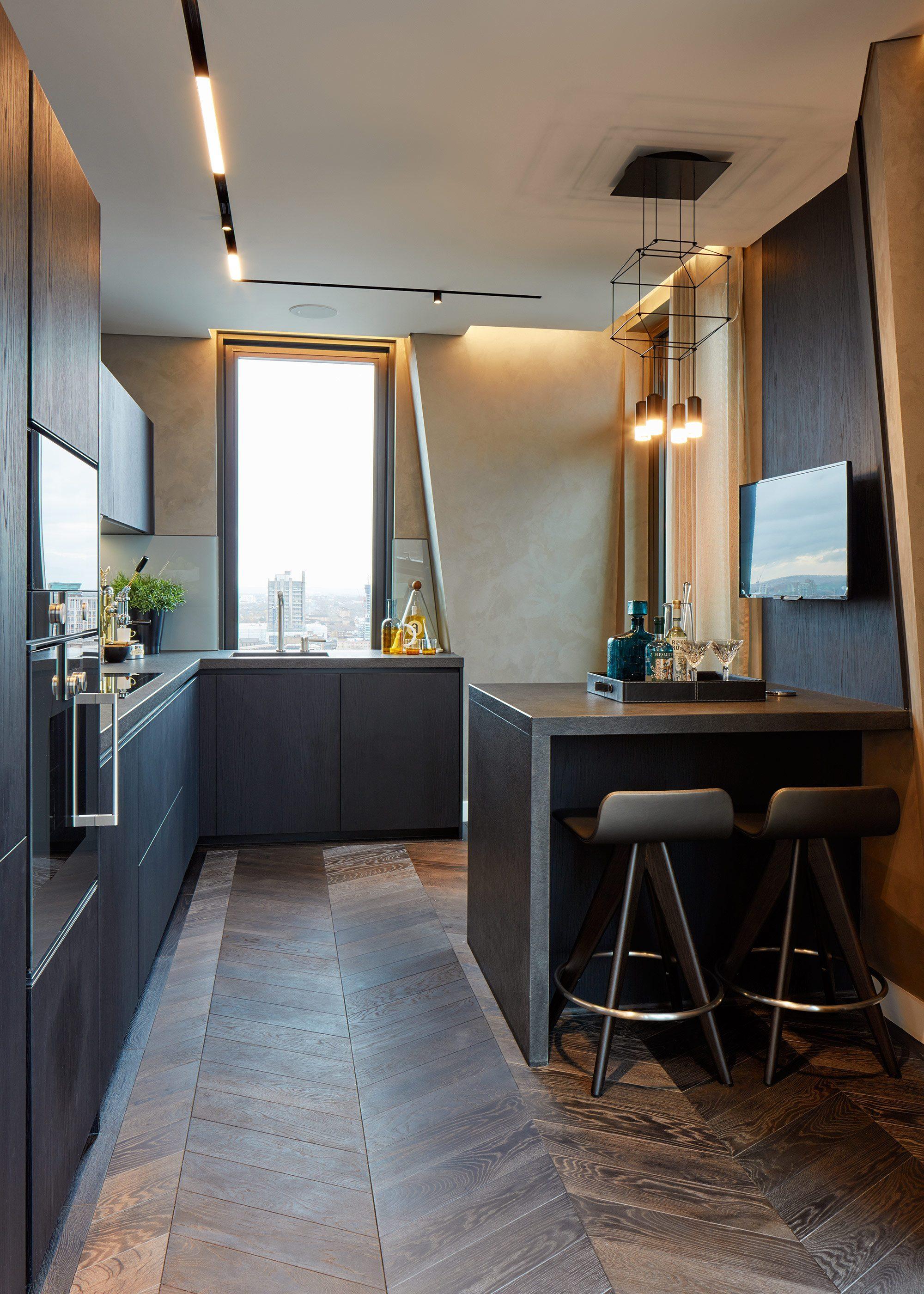 Honky Interior Design Parliament House London Kitchen