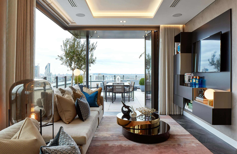 Honky Interior Design Parliament House London Living Room