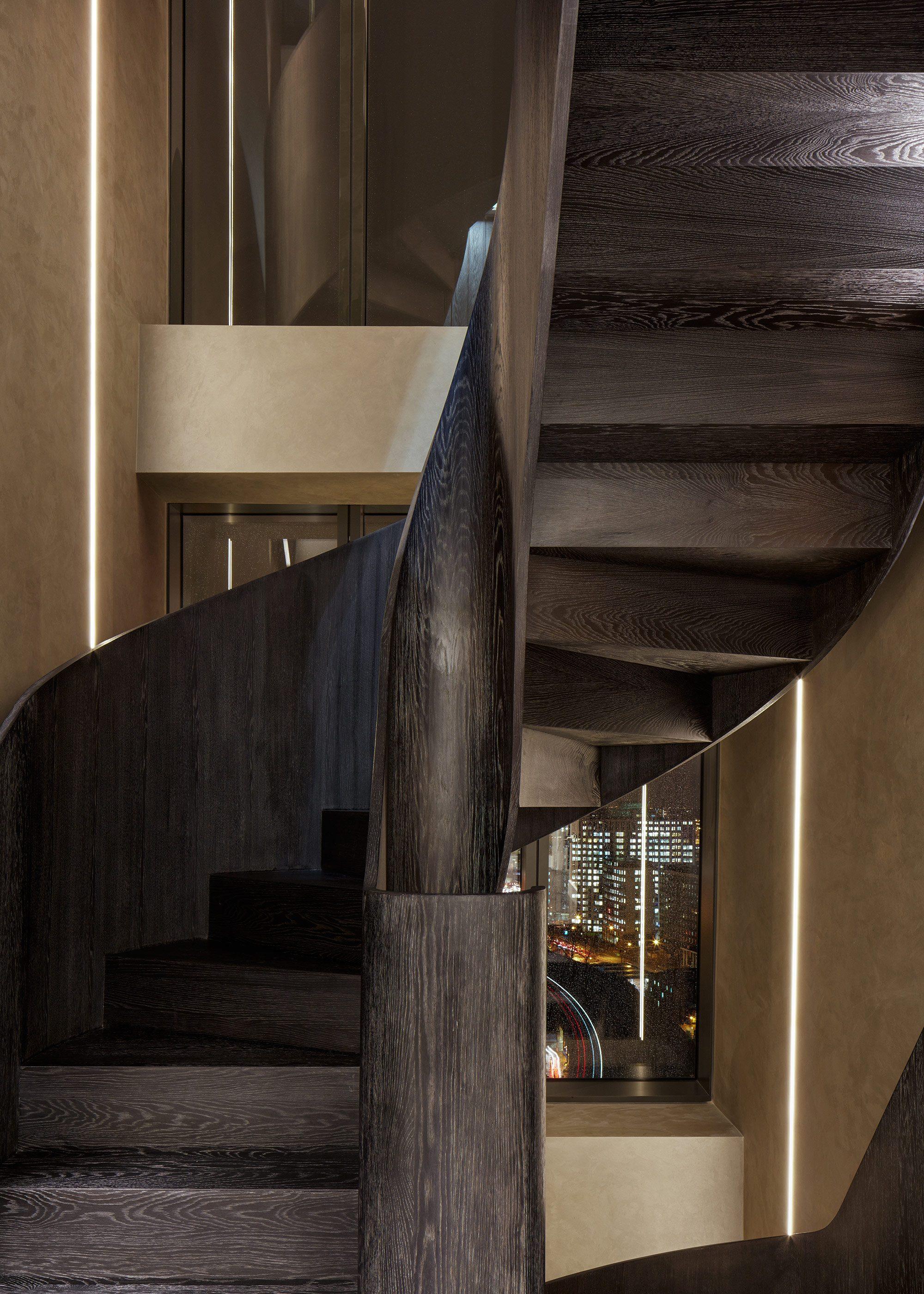 Honky Interior Design Parliament House London Stair Detail 2