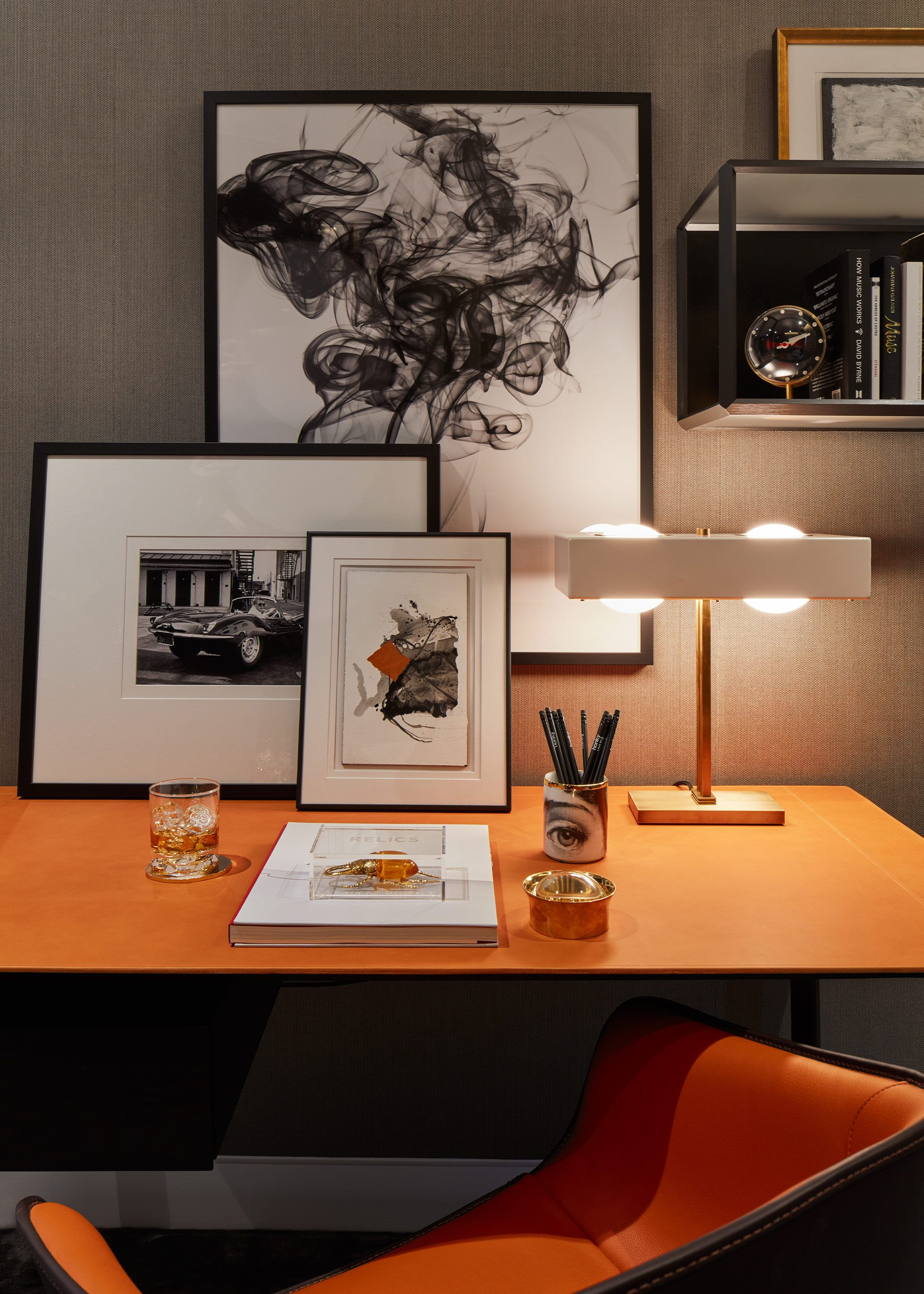 Honky Interior Design Parliament House London Study1