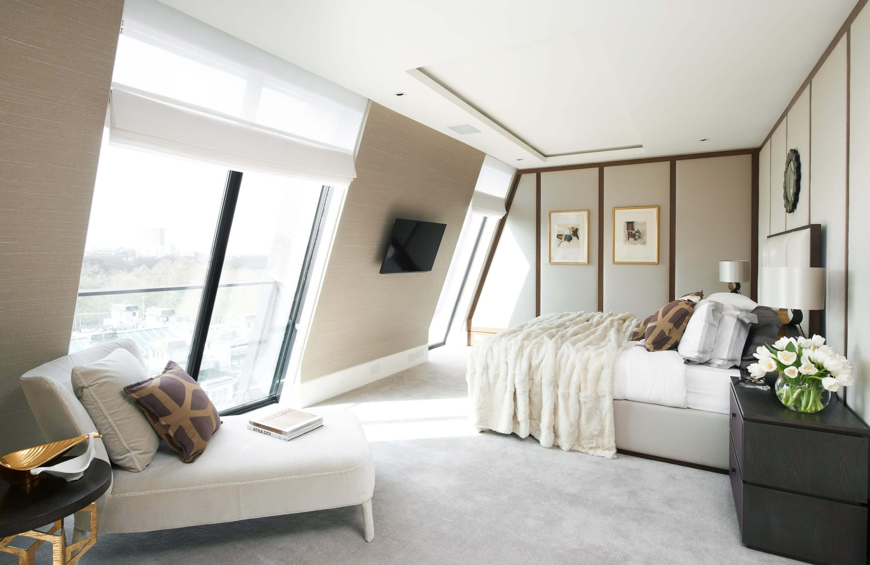 Honky Interior Design Trafalgar Square London Bedroom 1
