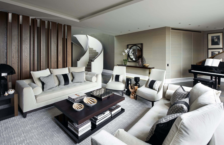 Honky Interior Design Trafalgar Square London Living Room 1
