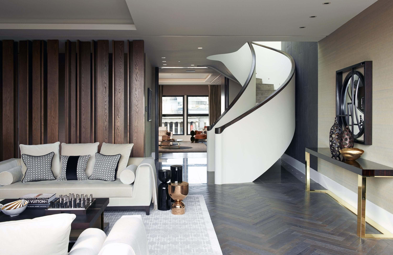 Honky Interior Design Trafalgar Square London Living Room 2