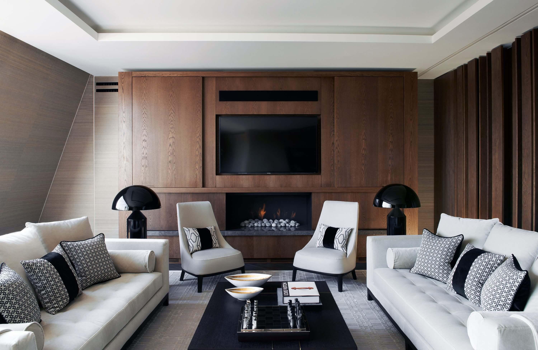 Honky Interior Design Trafalgar Square London Media Room 1