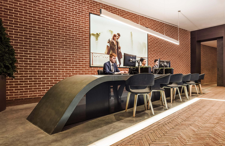 Honky Interior Design Marketing Suites Keybridge Vauxhall Wide 2